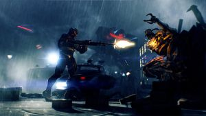 Crysis 2: Fighting in the rain by DP-films