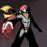 Protoman/Blues - Fanart by The-Man-Called-G
