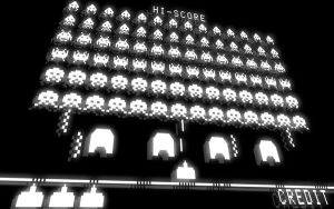 Space invaders wallpaper by tibots