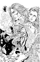 The Reef cover inks by Inker-guy
