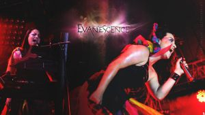 Evanescence live at Ukraine 29.07.2012 WALLPAPER by catherine2207