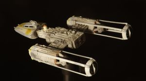 Y-Wing 1/72 Revell Model kit 3 by Hikaru84