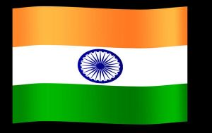 Flag of India by nitch-stock