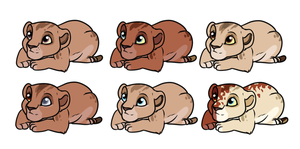 Bia X Shani Adoptables ONE LEFT by SassyHonks