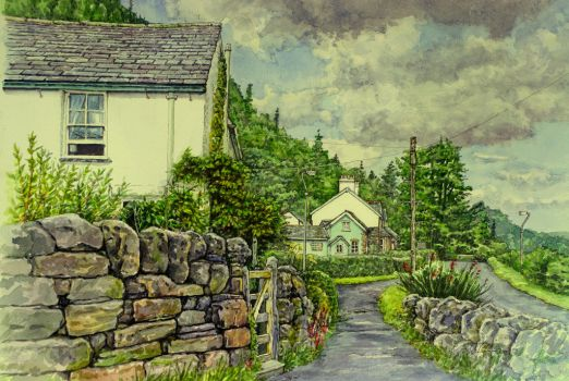Thornthwaite village, Cumbria by jeffsmith1955