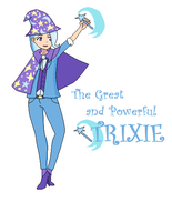 The Great and Powerful Trixie by Mattmankoga