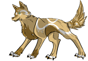 My adopted Wolf of 13Marisa by Darknights56
