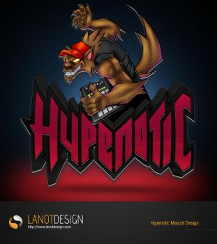 Hypenotic Mascot Design by LanotDesign
