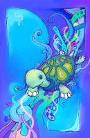 Baby Archelon by FakeScenery