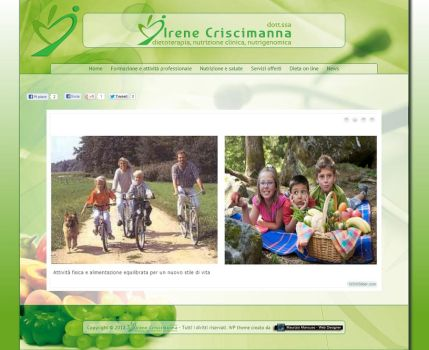 Irene Criscimanna - Web Site by MaurizioXD