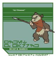 Star Wars Art: Wicket Warrick by toadcroaker