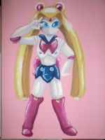 The medabot Sailor Moon basic by LadyBee-Moy