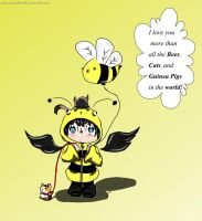 Bumble Bee Cas by Cozmicpandawolf