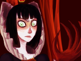 The Red Queen by PhanteraOnca