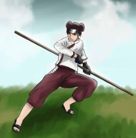 Commission - Tenten by chiyuu-kun