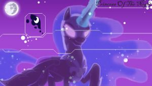 Nightmare Moon/Luna PSP Wallpaper by Hidan475