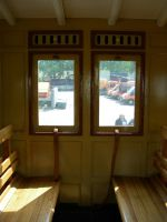 inside an old train wagon 01 by kuschelirmel-stock