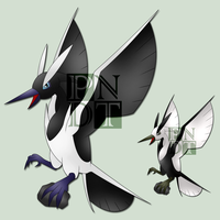 Fakemon FLUNDREPIE by psychonyxdorotheos