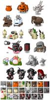 EBF4: New Foes Icons by KupoGames