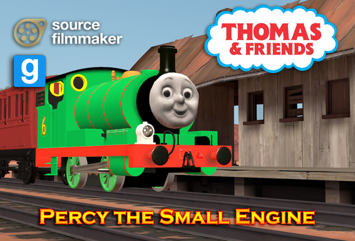 [SFM/GMOD Model] Percy the Small Engine by YanPictures