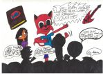 MH*RT3K: Cool Cat Saves the Kids by MonstrousPegasister