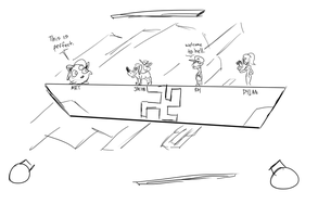 Dumb Sketch: Fun Destination. by MaximumWarp