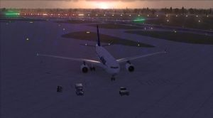 FSX - Sunset at the Gate by Cody-Maverick