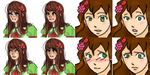 Before and After: New Art for HetaFear/Hospital! by Atomic-Crayon