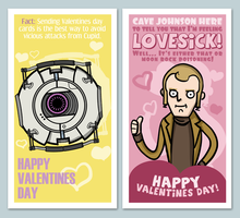 Portal Valentines by Toast-Mage