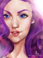 Humanized - Rarity by riotfaerie