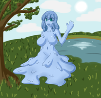 Monster Girl Challenge 3: Slime by Jcdr