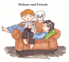 Sherlock and Friends by leloi