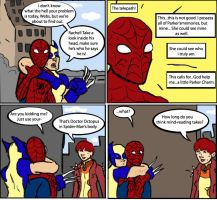Superior Spider-Man: Mind Games by magickmaker