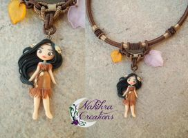 Pocahontas necklace by Nakihra