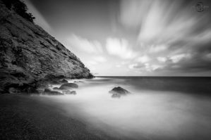 Secluded Cove Long Exposure 2 by Creative--Dragon