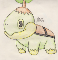 Turtwig (REQUEST) by Shabou