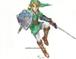 Link [Gift] by Melidraw