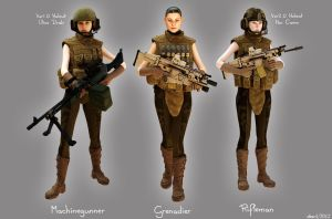 Battlefield 3 Female Characters? by freiheitskampfer