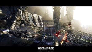 Necrowarp - Arcade Game Art Project - Image 02 by MadMaximus83