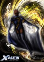 X Men Legends game Storm Illustration by icediamond7