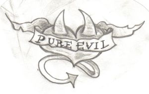 Pure Evil by UndergroundTattoos