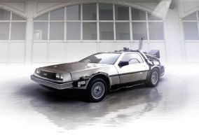 Back to the Future Delorean by theCrow65