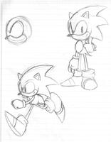 Classic Sonic by sonicbommer