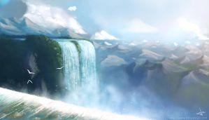 Waterfalls by thomaswievegg
