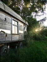 trailer in the woods by Darkshirley