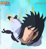 Sasuke Flying by IITheDarkness94II