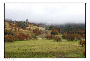 Cache Creek in mist by photodoc2