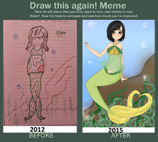 draw this again meme by PaulaAlexandra72