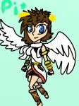 Kid Icarus: Pit by Zorceus