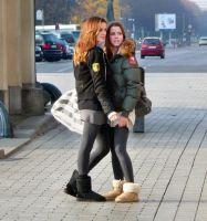 two girls with uggs,favorites by toyra